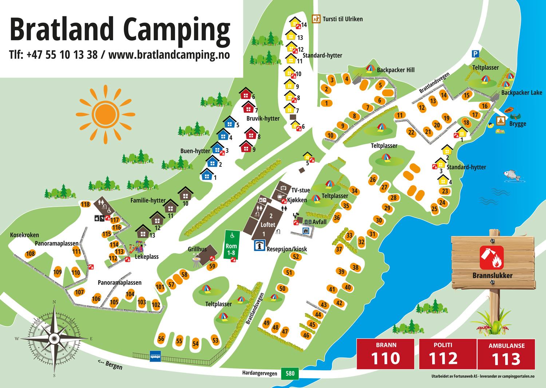 © Bratland Camping