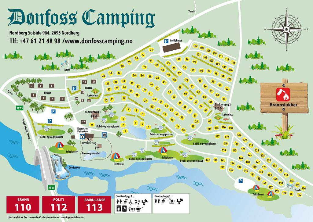 © Dønfoss Camping