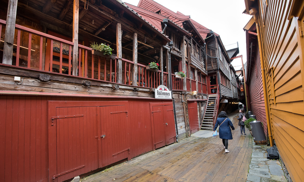 Bryggen is Hansabyen's trademark and an attraction worth taking with you.