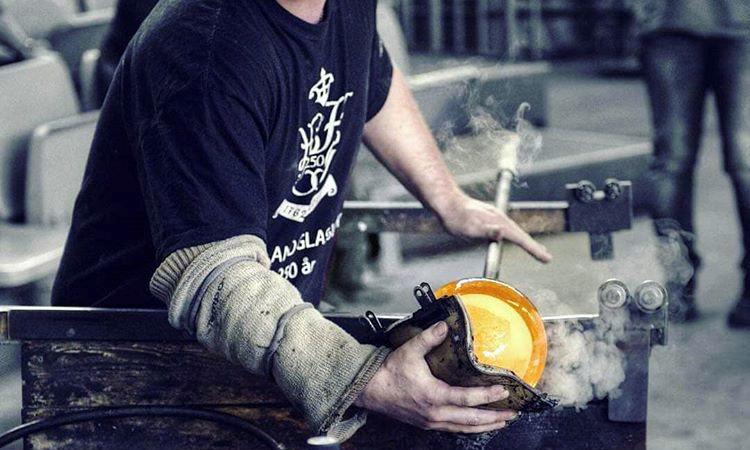Martin Johansson, fourth generation glassblower