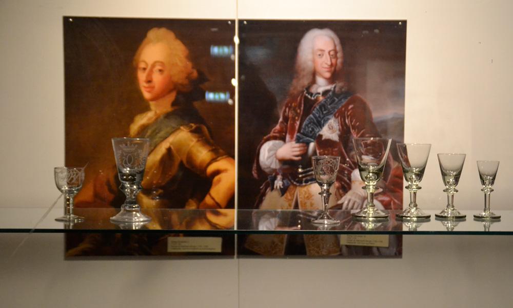 Royal Nøstetangen glass from the 1700th century