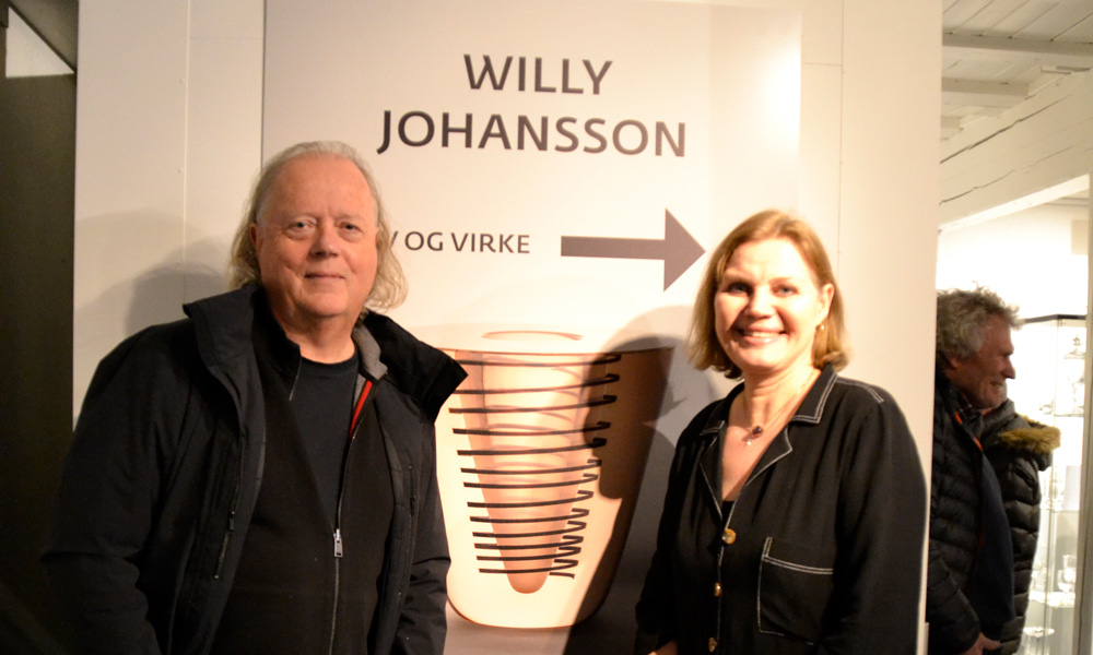 BoCM met Atle Brynestad and Elin Hammer at Hadeland Glassverk