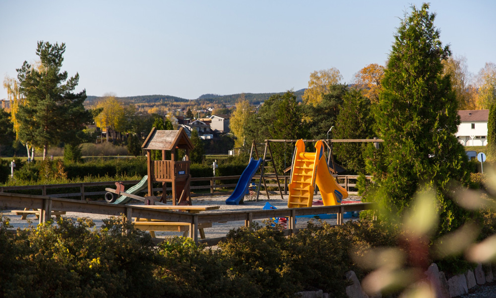 The play areas and the nice beach mean that many families choose to spend several days at this campsite