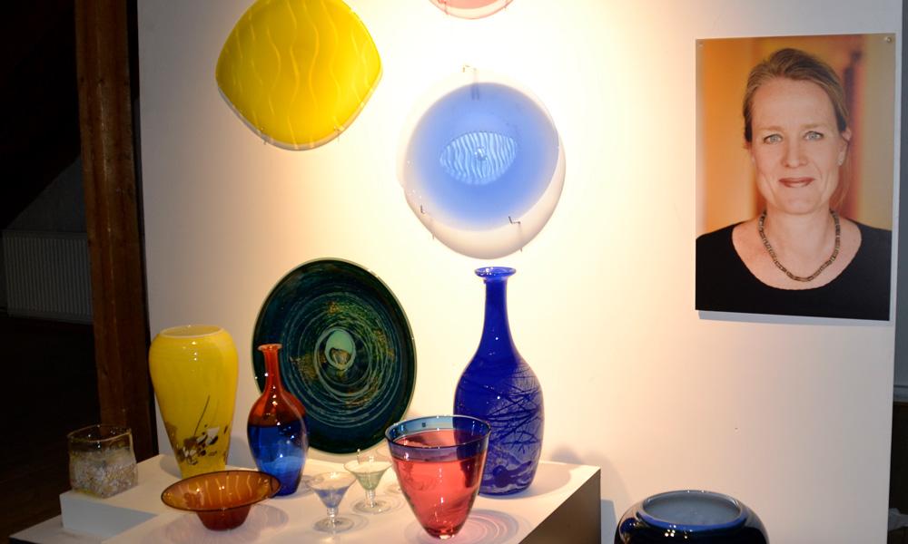 Works by Maud Gjeruldsen Bugge, designer and artistic director, Hadeland Glassverk
