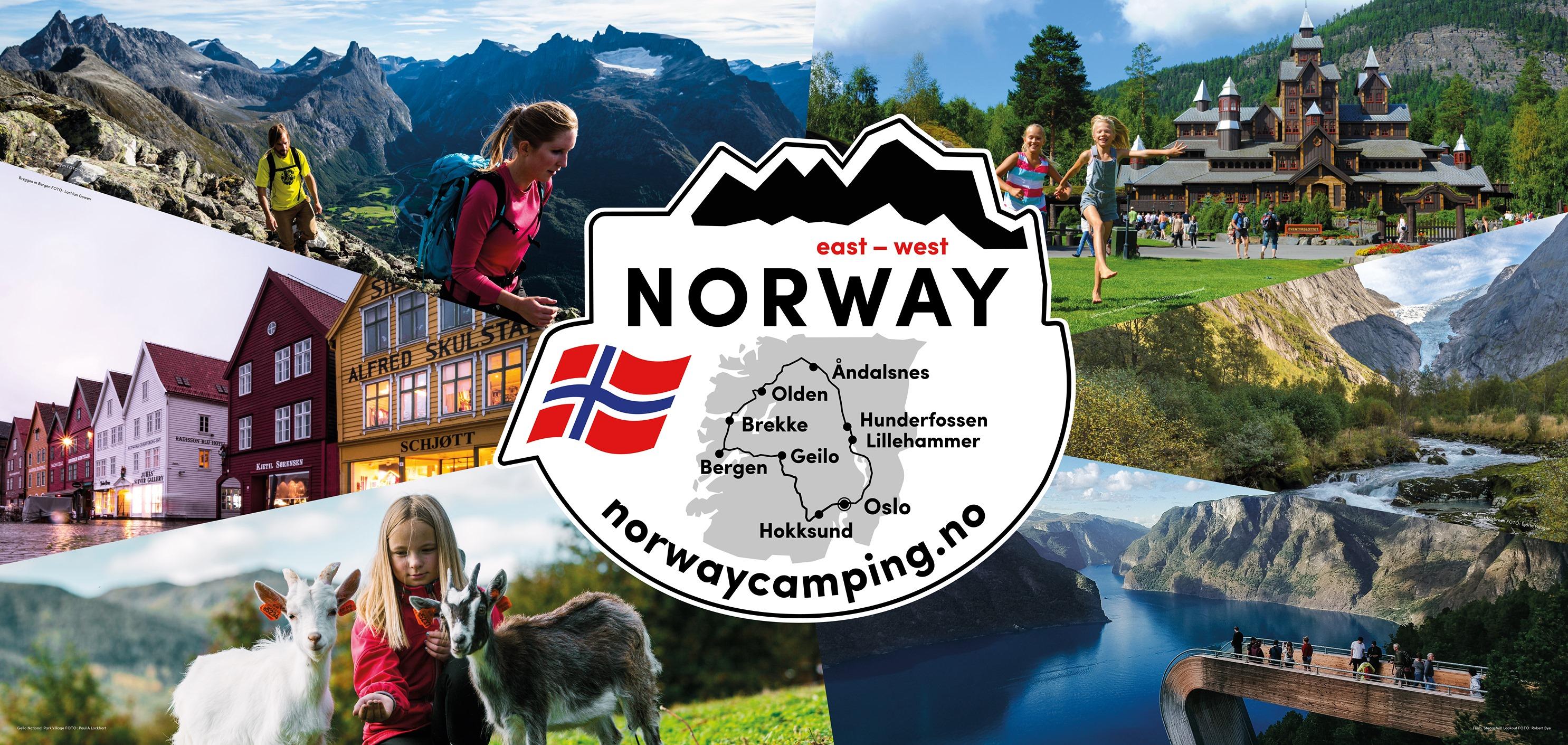 Norwegen Ost-West