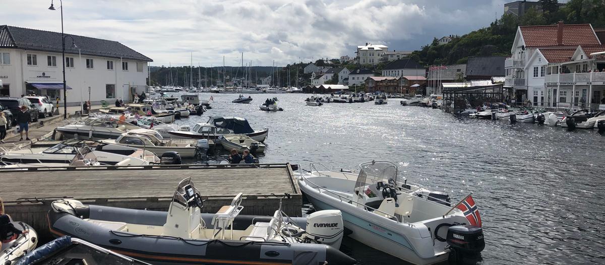 Bustling boating in Kragerø