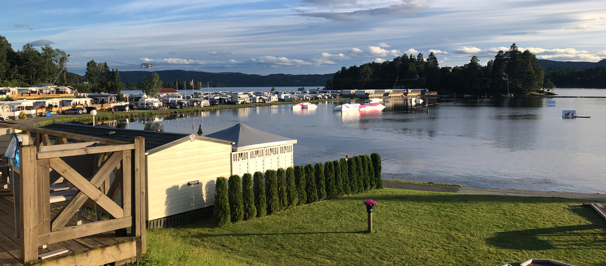Norsjø holiday park - a great holiday resort for both regular guests and tourists on a trip.