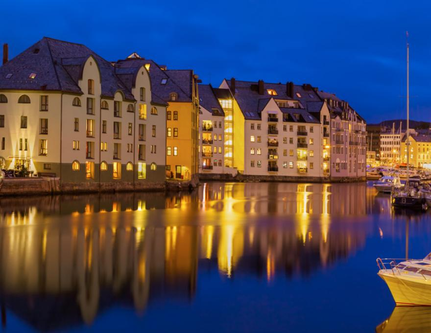 Alesund - Jugend stad