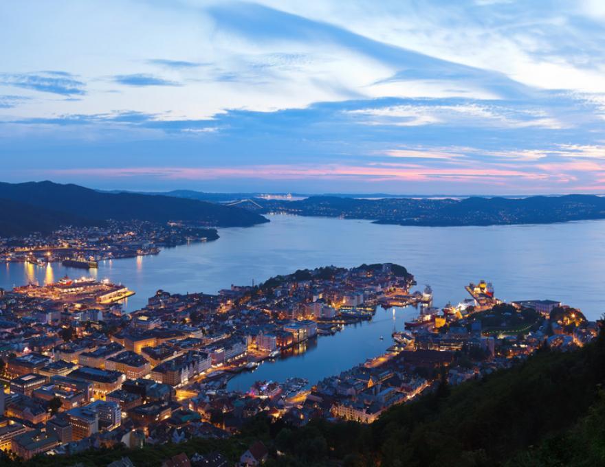 Bergen - de stad tussen de zeven bergen