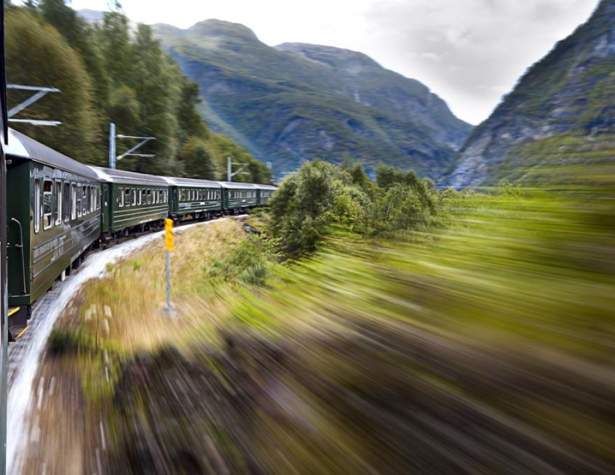 Flam Railway - an amazing train ride in a beautiful landscape