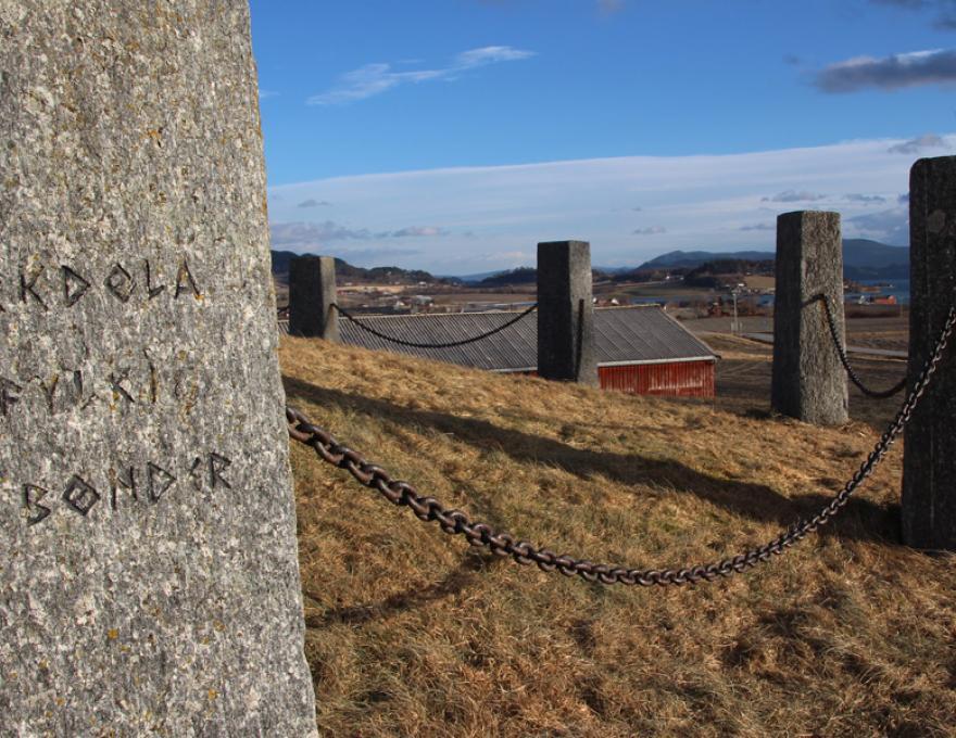 Frosta - een klein historisch juweeltje in Central Norway