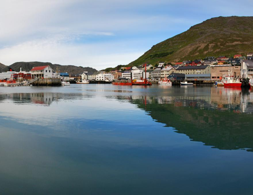 Honningsvåg - the northernmost city in the world