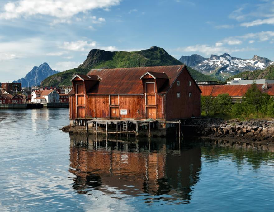 Lofoten - fishing villages, gulls and beautiful scenery