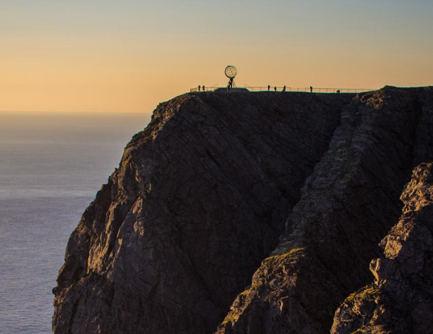 Nordkapp - Welcome to the top of Europe