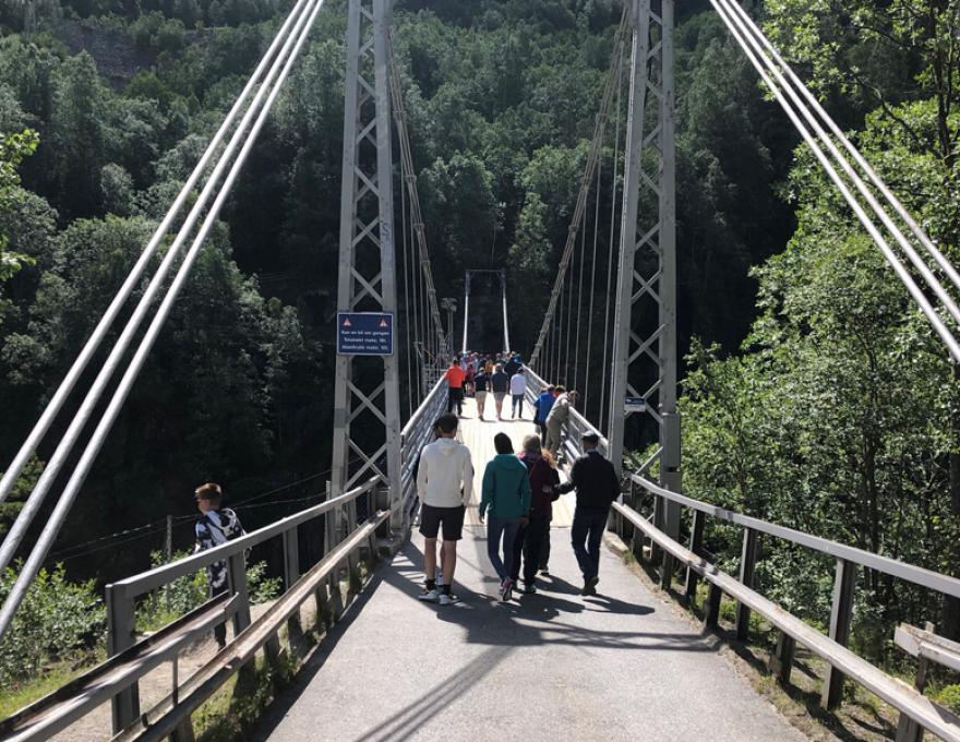 """Rjukan - the city at the center of the """"battle for the heavy water"""""""