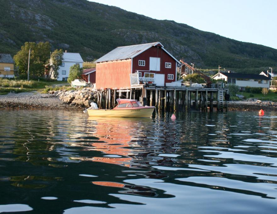 Mooie en magische reis naar Sandøya Tromsø