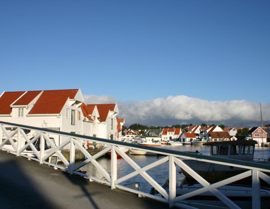 Skudeneshavn - het mooie zeilschip stad