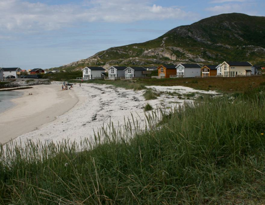 Sommarøy - idylle en witte stranden