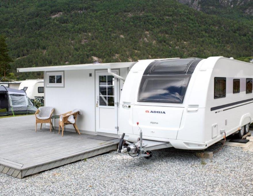 Great rental car © Kinsarvik Camping