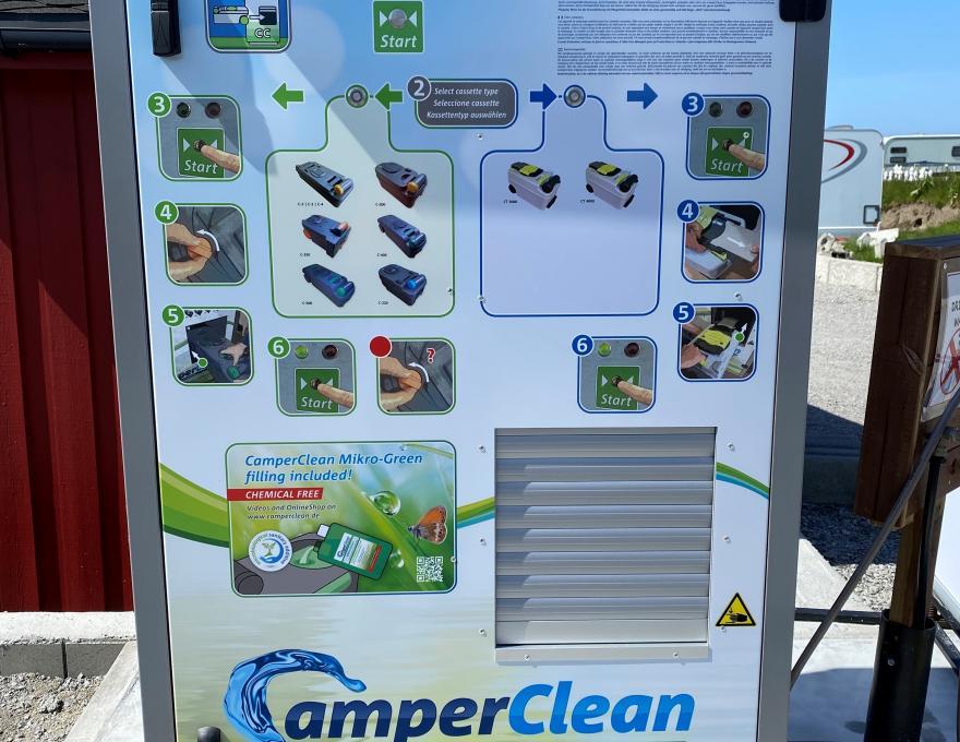 CamperClean-Maschine