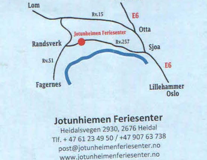 © Jotunheimen Feriesenter