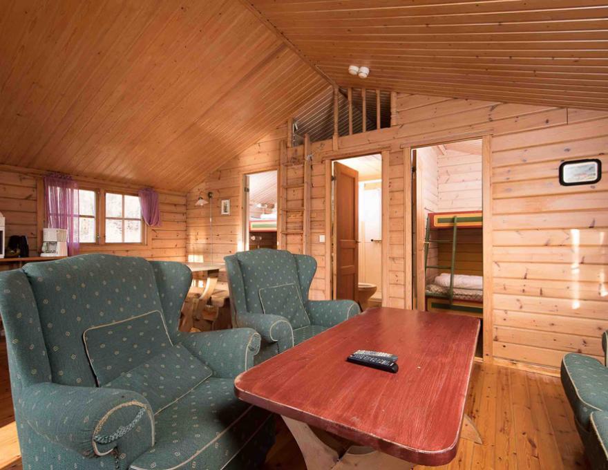 6-Mann-Hütte © Bakkaåno Camping og Gjestegård