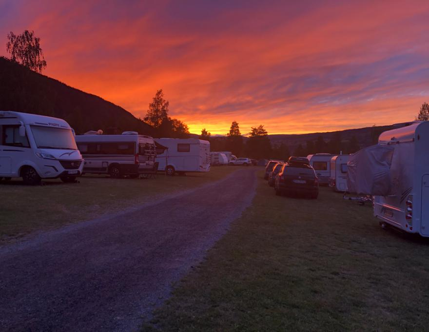 Hunderfossen Camping © Fortunaweb AS