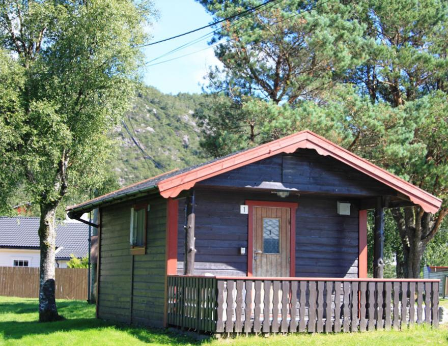 Cottage 2- 3 pers. 1 bedroom © Lone Camping