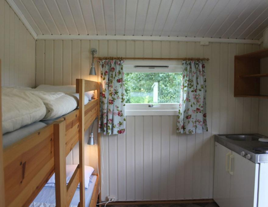 Cottage 4 pers. 1 bedroom © Lone Camping