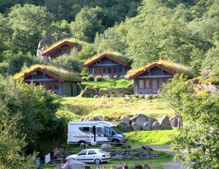 Holiday cottage 1, 2, 3 © Melkevoll Bretun Camping