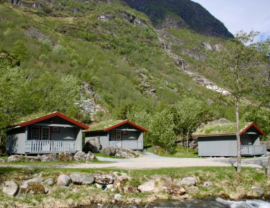 Camping cabin © Melkevoll Bretun Camping
