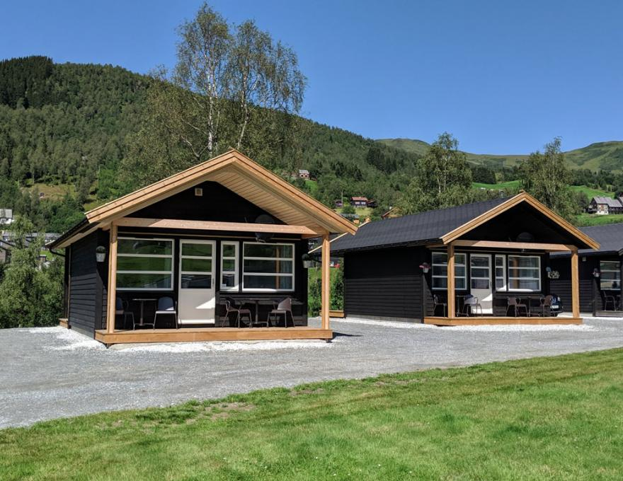 New in 2019, good and winter-insulated cabins - 1 bedroom © Myrkdalen Camping