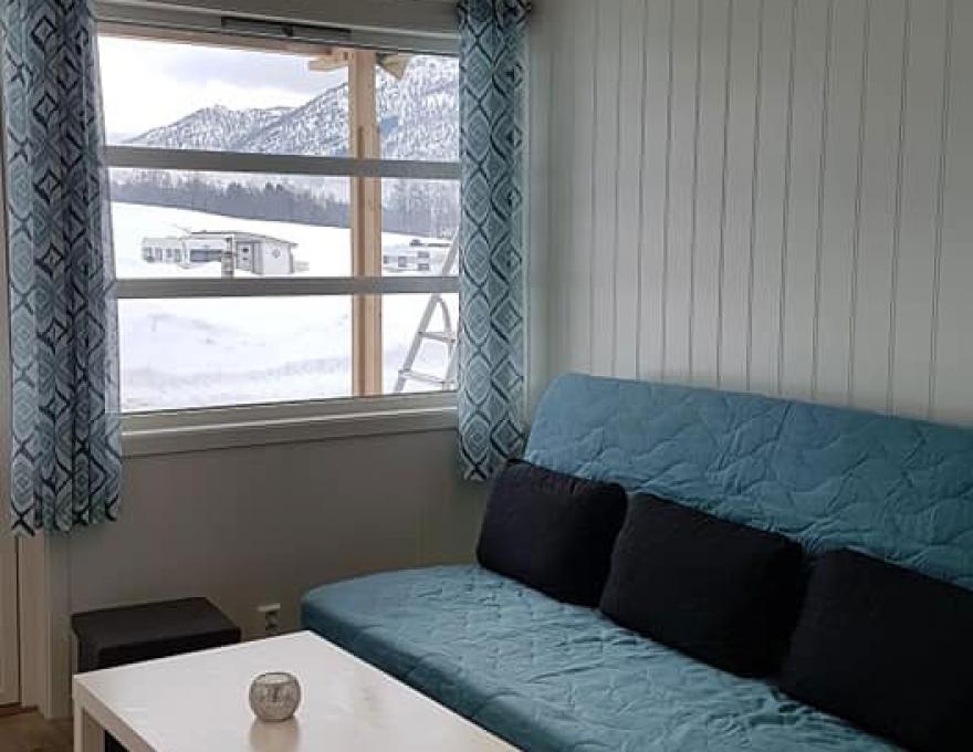 Nieuw in 2019, goede en wintergeïsoleerde hutten - 1 slaapkamer © Myrkdalen Camping