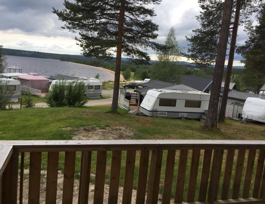 Glamping hut © Osensjøen Camping