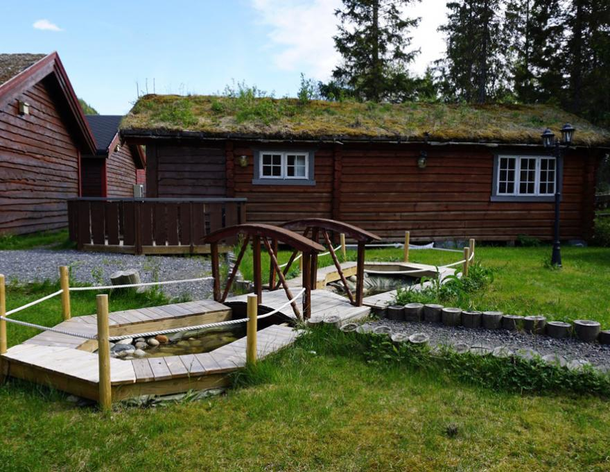 © Pluscamp Mosjøen Camping, Large cabins with 2 bedrooms