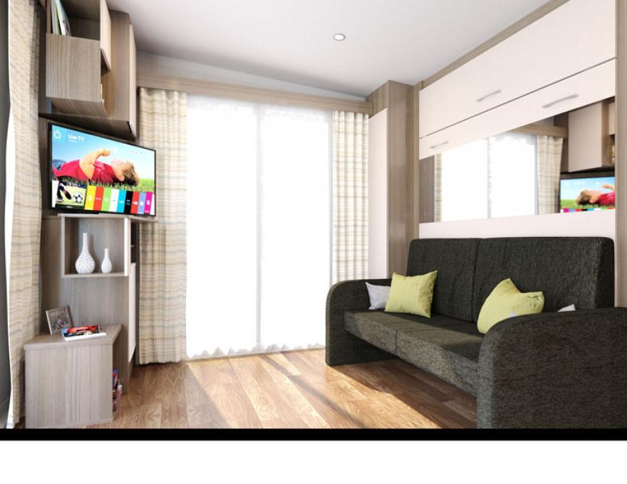 © Pluscamp Stranda Feriesenter, Superior tweepersoonskamer met terras Superior tweepersoonskamer met terras