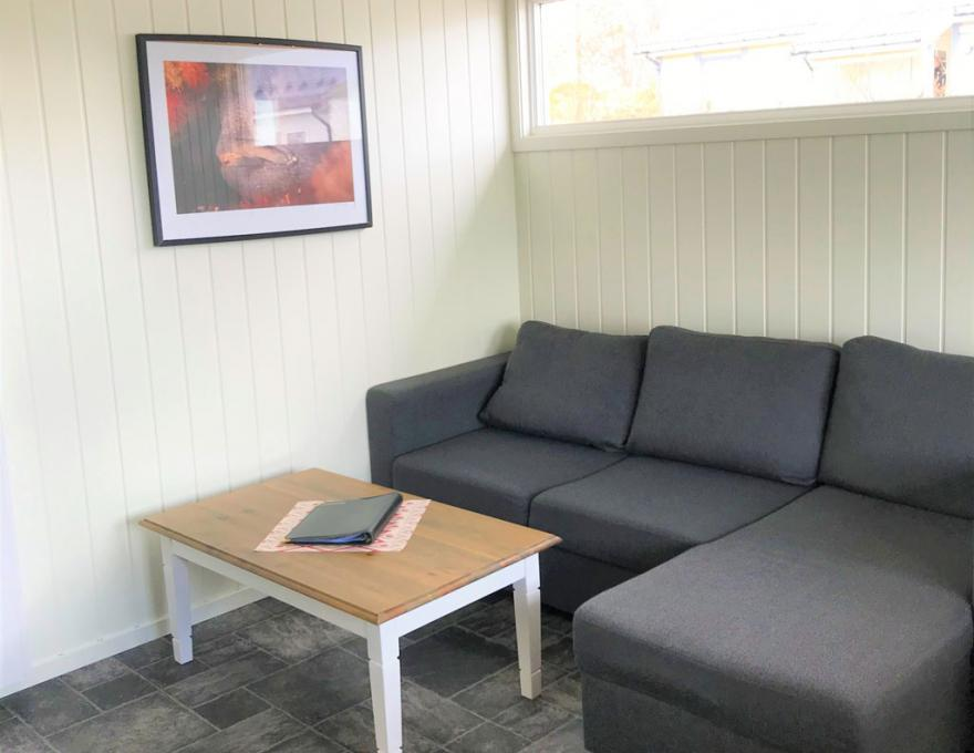 Appartement duikcabine © Pluscamp Saltstraumen Camping