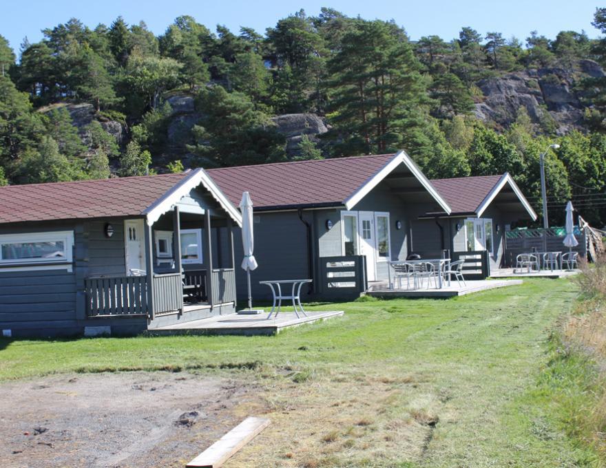 Hut 1 en 2, © Vøra Camping