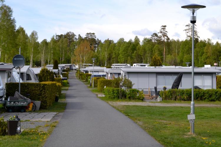 Larkollen Camping hat 363 Stellplätze und 40 Gaststellplätze und ist einer der bekanntesten Campingplätze am Oslofjord.