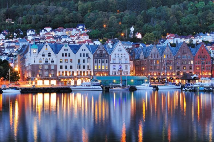 Bergen - the city between the seven mountains